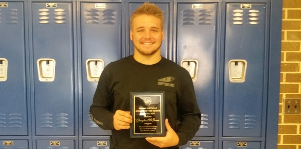 Brayden McGinnis - Male Athlete of the Month (September)