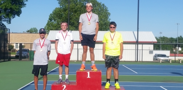 Parker Stewart - #2 Singles Champion @ Duncan Tournament