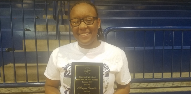 Makyra Tramble - January Female Athlete of the Month