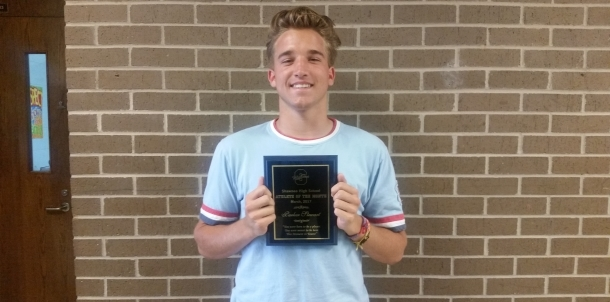 Parker Stewart - Male Co-Athlete of the Month (March)