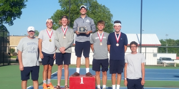 3rd Place Winners- Duncan Tennis Tournament