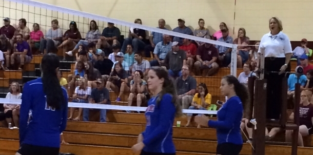 PHS Volleyball Sweeps George County