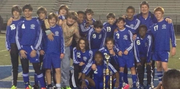2014 District IV Middle School Soccer Champions!!