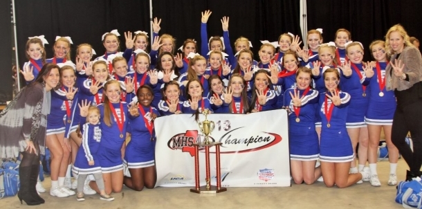 2013 MHSAA 6A Cheer State Champions