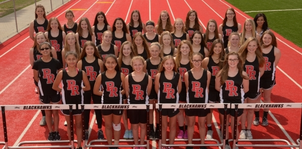 Junior High Girls Track 2017