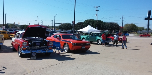 Rebel Yell Car Show