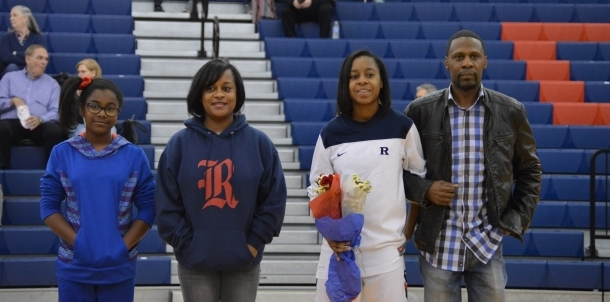 Destiney Senior Night