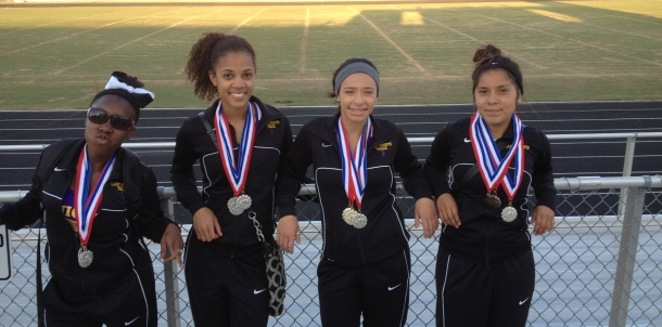 3200M Relay Team - 2nd Place @ All City