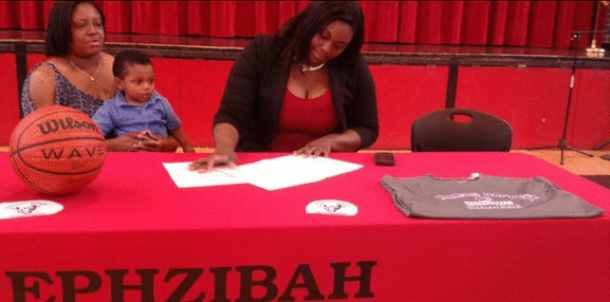 Georgia Prep Star Signs with Lady Buffs!