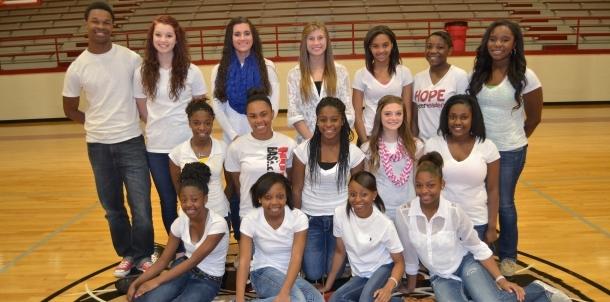 2014-2015 HHS Varsity Cheerleaders