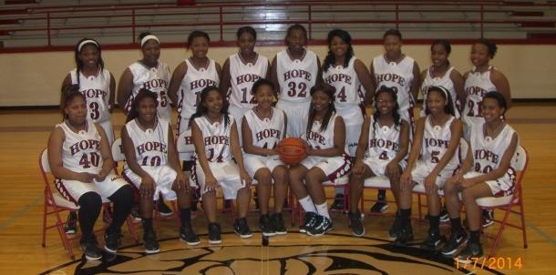 2014 Varsity Girls Basketball Team