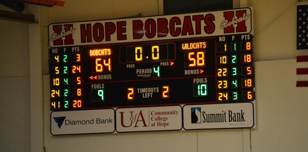 Hope vs Watson Chapel final score