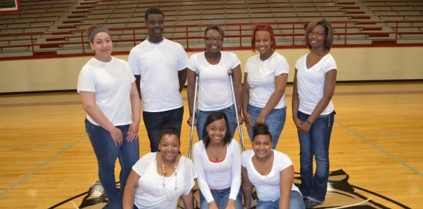 2014-2015 HHS Varsity Pep Cheerleaders