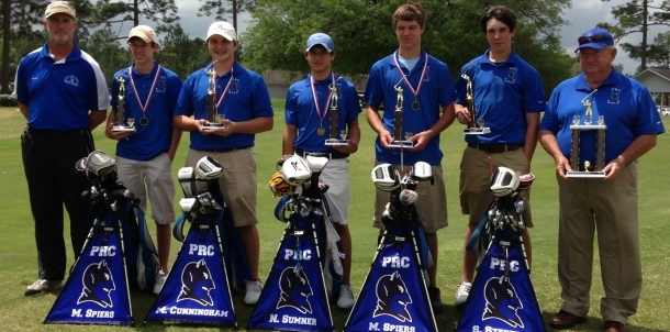 Blue Devils Win 4-5A Golf Tournament; Advance to State