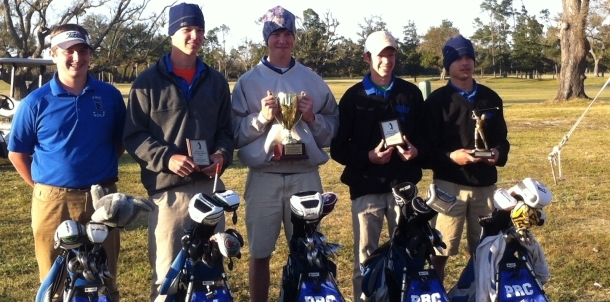 PRC takes 2nd place at Admiral Invitational golf tournament @ Great Southern in Gulfport.