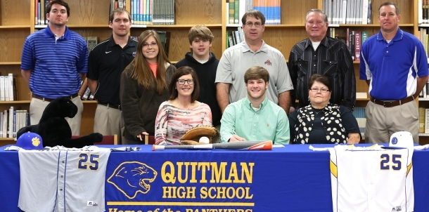 Zach Parker Signs With East Central