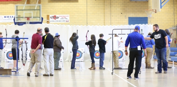 QHS Hosts 1st Ever Archery Match