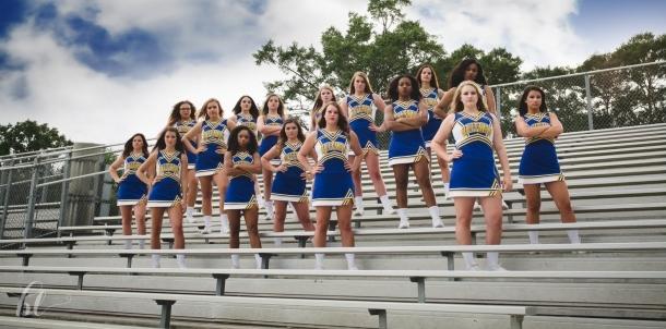 2016 QHS Varsity Cheerleaders