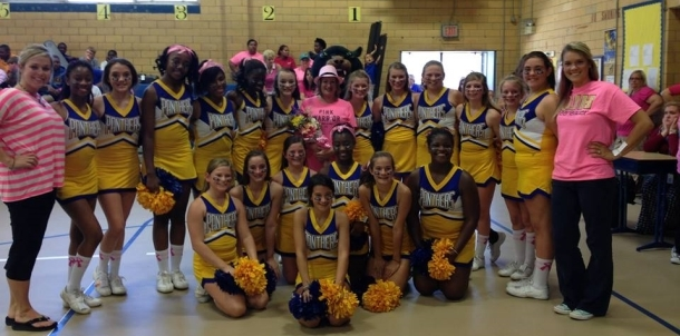 State Junior High Cheer Competition Saturday, Nov. 15th, at Ridgeland High School