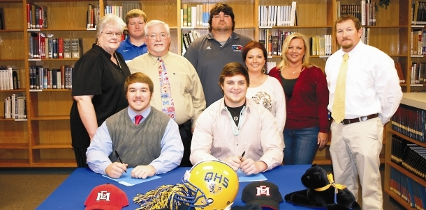 Chris Berry and Lance Lyon Sign with East Mississippi CC