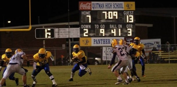 Quitman vs. Purvis Playoff Action