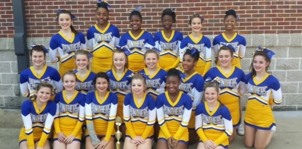 2014 State Middle School Cheer Competion
