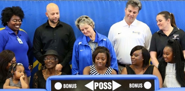 Dandy Dozen Lady Panther Guard Shonte Hailes Signs With USM