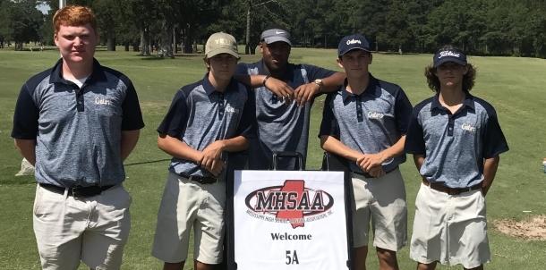 5A State Golf Match