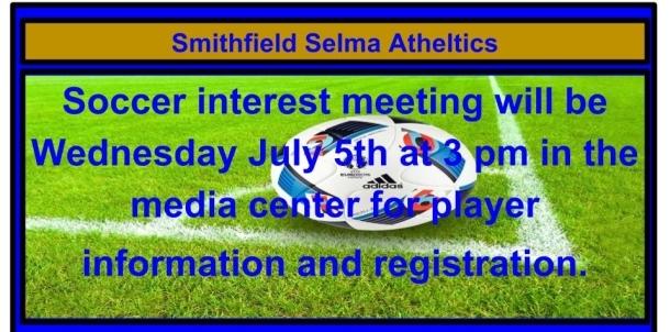Soccer Interest Meeting