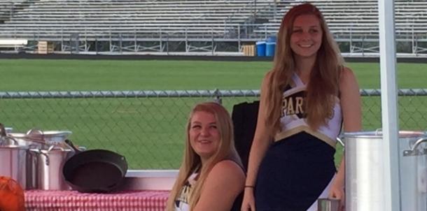Varsity Cheer photo shoot