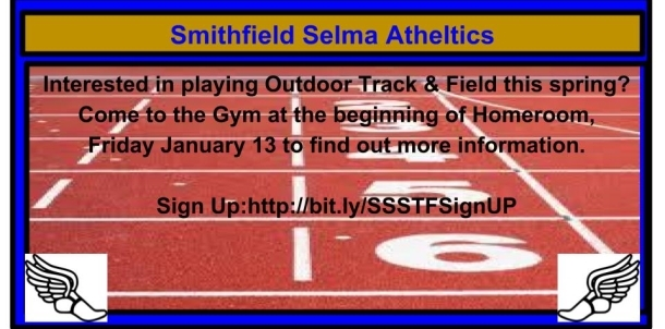 Track and Field Sign Up