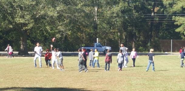 Spartan Mentors at Selma Elementary
