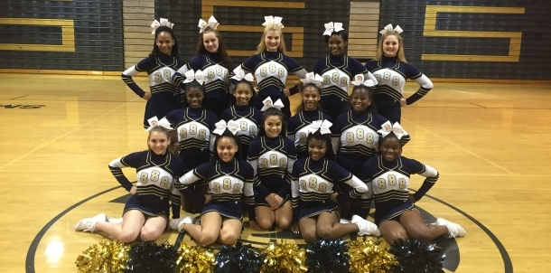 2015-2016 JV Cheerleaders