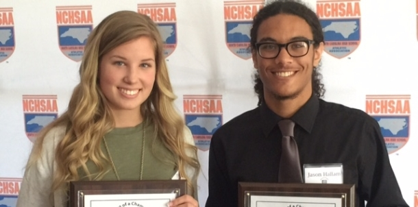 NCHSAA Heart of a Champion Recipients