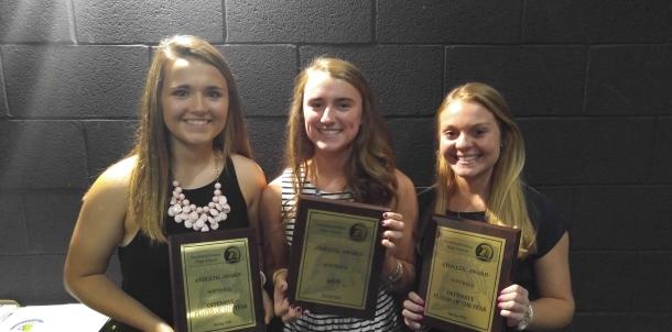Softball Award Winners