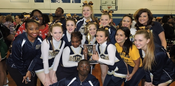 SSS Cheer 2nd place