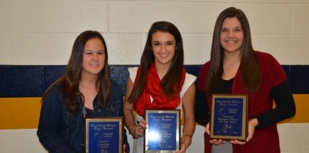 Fall Awards Night- Varsity Volleyball