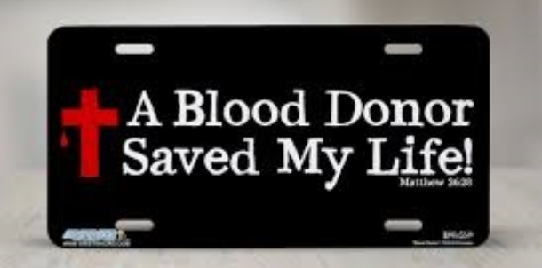 Donate to the Blood Drive Thursday Feb 2nd