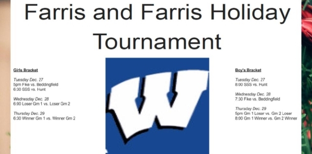 Farris and Farris Holiday Tournament