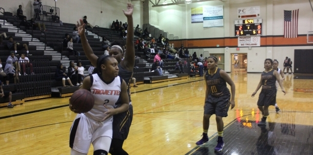 TROJETTES MARCH INTO THE PLAYOFFS!