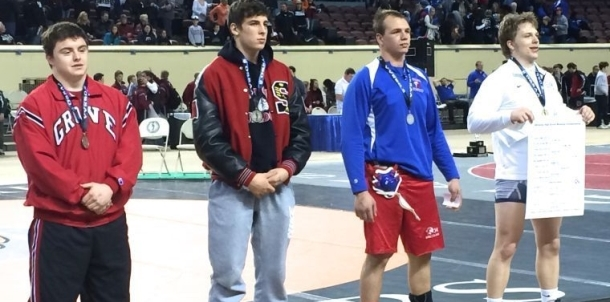Colby Layman places fourth at state