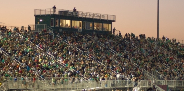 Bundrant Stadium on Opening Night