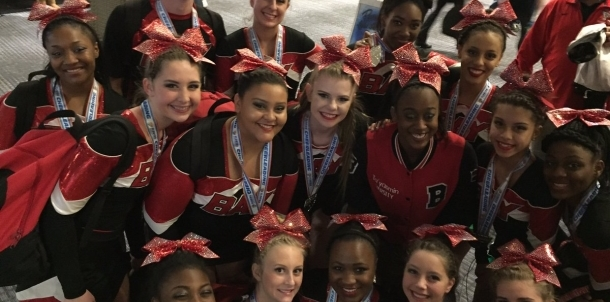 Cheerleaders place 2nd at State