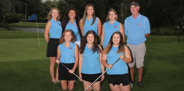 Girls Varisty Golf