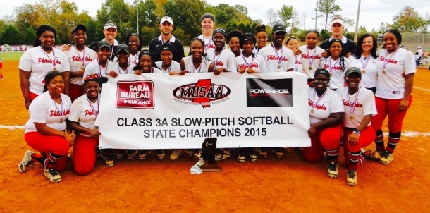 BACK2BACK MHSAA 3A SLOWPITCH STATE CHAMPIONS