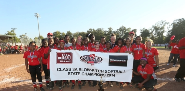 HOME OF THE 2014 MHSAA 3A SLOWPITCH STATE CHAMPIONS!