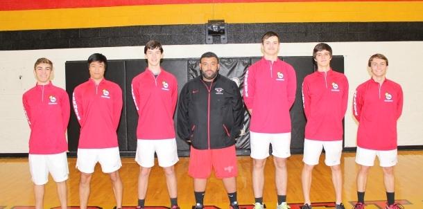 2016 Men's Tennis Team Seniors