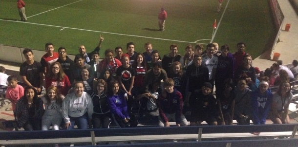 Soccer Teams at Fire Game
