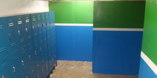 New Girls Locker Room!