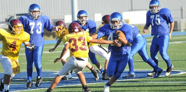 Bryant Blue seventh grade team whips Wolves, 14-0